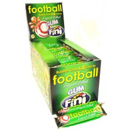 FOOTBALL BUBBLE GUM 4p   x50