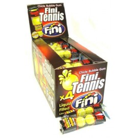 TENNIS BALL BUBBLE GUM 4p   x50