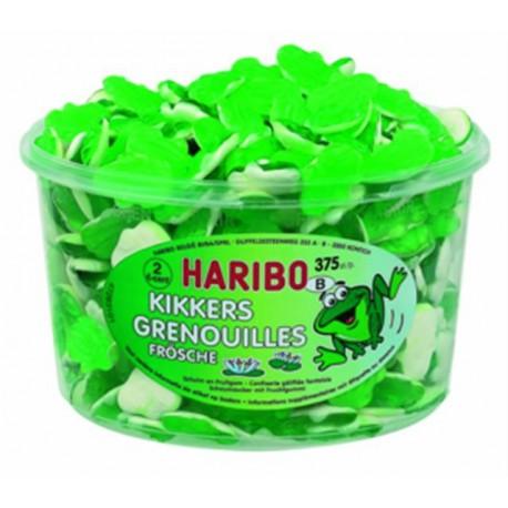 TUBE GRENOUILLES HARIBO 150P 0.05 €