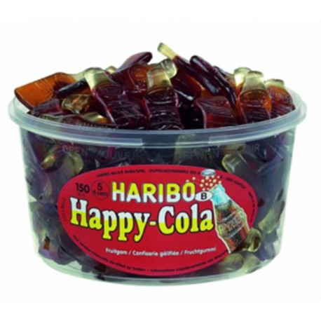 TUBE HAPPY  COLA HARIBO x150