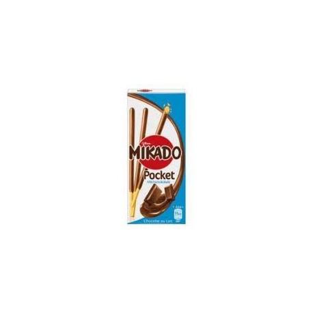 MIKADO POCKET Chocolat LAIT !! 39 Gr x24