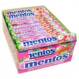 Mentos Strawberry mix Boite de 40p