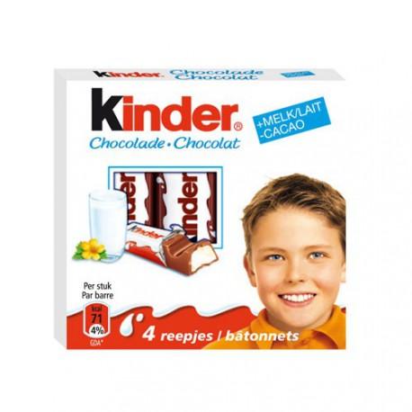 KINDER BARETTES T 4    50 GR x20