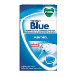 VICKS BLUE Sugarfree 40Gr x20