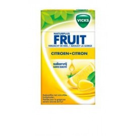 VICKS CITRON Sugarfee 40gr x1 ( RQ20 )