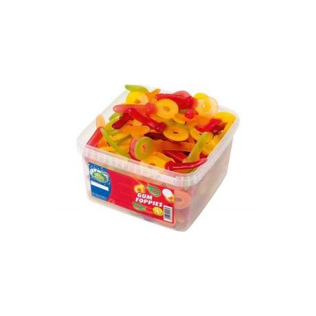 Tubo LUTTI GUM FOPPIES x100