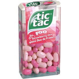 Tic Tac STRAWBERRY Mix 100p 49Gr x1