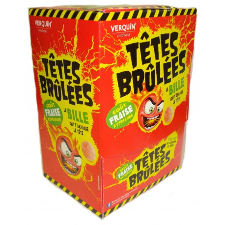 TETES BRULEES FRAISE 300p