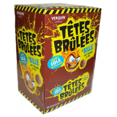 TETES BRULEES cola 300p