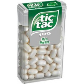TIC TAC MENTHE 100p 49GR x1 (Q16 )
