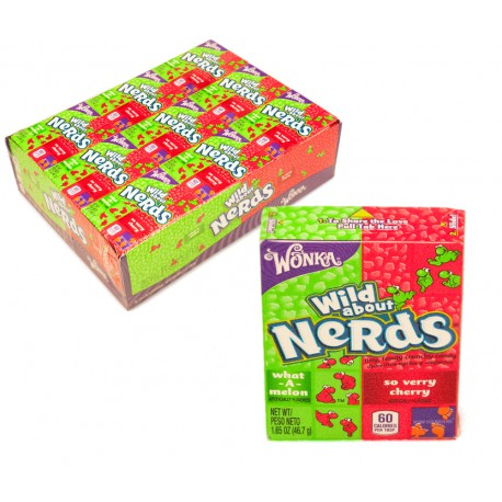 Wonka NERDS  Watermelon Cherry 46Gr ( Q36)