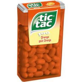 TIC TAC T100 !!! 49 Gr ORANGE x24  ( Grand )