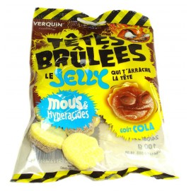 Tetes Brulées Jelly cola 100gr