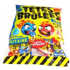 Tetes Brulées Kitache Framboise & Fraise 70gr