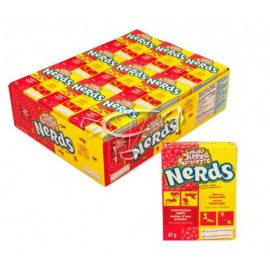 Wonka NERDS Apple Watermelon Cherry 46Gr ( Q36)