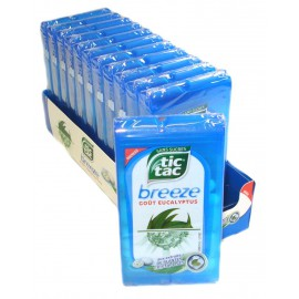 Tic Tac BREEZE EUCALYPTUS Sugarfree 18gr x1