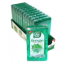 Tic Tac BREEZE PLANTES Sugarfree 18gr x1