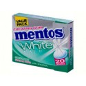 Mentos GUM White Green Mint FliptopBox 20 dragées
