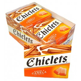 CHICLETS Sugarfree CINNAMON x14