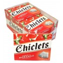 CHICLETS Sugarfree FRAISE x14