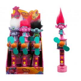 TROLLS CoolFan + candy x12