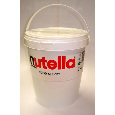 Nutella Méga pot 3 Kg