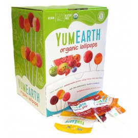YumEarth Organic Lollipop x100
