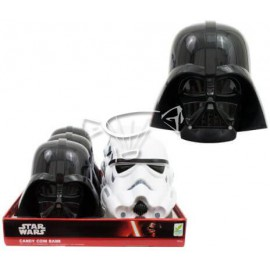 Star Wars Candy Coin bank display 6 pces