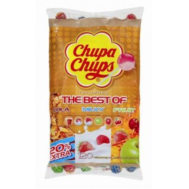 CHUPA CHUPS BEST OF refill bag Sachet ! 120p