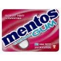 Blister MENTOS GUM CHERRY MINT x12